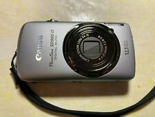Canon PowerShot Digital ELPH SD980 IS 12.1MP Silver + SD Card + Case Logic