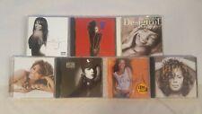 JANET JACKSON 7 CD LOT: DESIGN-CONTROL-DAMITA JO-DECADE-RHYTHM NATION-ALL 4 YOU