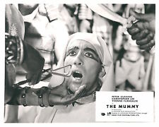 THE MUMMY ORIGINAL HAMMER HORROR BRITISH LOBBY CARD CHRISTOPHER LEE RE-RELEASE