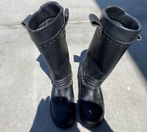 Haix firefighter boots Mens Size 9