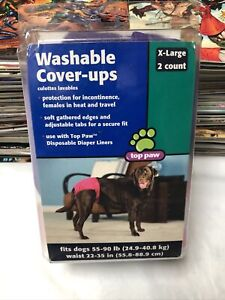 Top Paw Washable Cover-ups X Large 2 Count