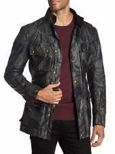 Belstaff Sophnet Roadmaster Camo Grey Camouflage Jacket XL 54 NWT $995