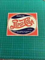 """Pepsi Cap Soda Sticker Decal 3.75x3.75/"""""""