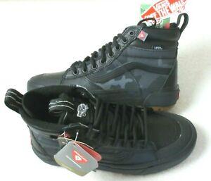 Vans Women's Sk8-Hi Mte 2.0 Dx All Weather Boots Woodland Camo Black Size 8 NIB