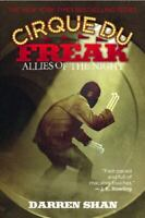 Cirque Du Freak #8: Allies of the Night: Book 8 in the Saga of Darren Shan by S