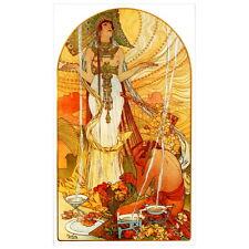 Salammbo by Alfonse Mucha Deco FRIDGE MAGNET, 1896 Alfons Art Nouveau Gift