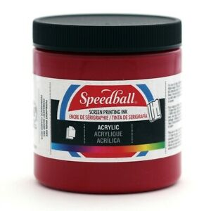 Speedball Permanent Acrylic Screen Printing Ink 8oz