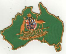 LARGER AUSTRALIA CREST IRON ON  PATCH BUY 2 GET 1 FREE = 3 OF THESE