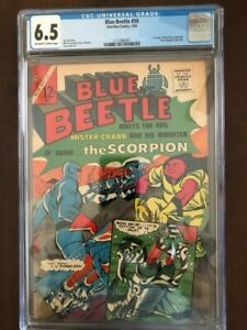 Blue Beetle #50, July 1965, Charlton Comics, CGC Grade 6.5 FN+