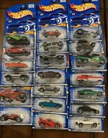 Lot of 20 Hot Wheels-Mattel Wheels 7 2001 First Editions, 1 Rod Squadron, etc.