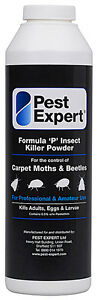 Pest Expert® Formula 'P' Carpet Moth & Beetle Killer Powder (300g)