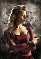 INGLOURIOUS BASTERDS Movie PHOTO Print POSTER Textless Art Mélanie Laurent 011