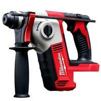 "Milwaukee 2612-20 M18 18V 5/8"" SDS Plus Rotary Hammer w/ Depth Rod - Bare Tool"