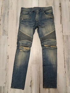 Balmain Jeans W8H9100 Preto