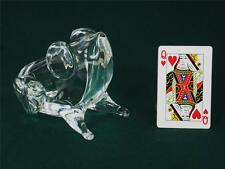 Vintage Murano Signed Licio Zanetti Glass Frog Figurine Italy Paperweight