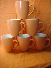 BEVANDE APRICOT 400ml COFFEE TEA MUG (6-PACK) BRAND-NEW COMMERCIAL-QUALITY