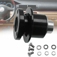 Universal 360 Steering Wheel Quick Release Disconnect Hub Kit Black Us Stock