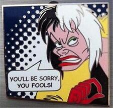 Cruella DeVil 101 Dalmatians 2011 Villains Comic Book Disney Mystery Pin 87518