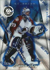 1997-98 (AVALANCHE) Pinnacle Totally Certified Platinum Blue #2 Patrick Roy