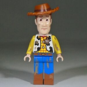 LEGO Toy Story 3 Minifig - Woody with printed dirt stains from set 7596