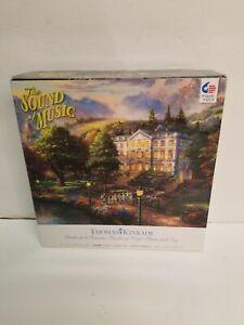 The Sound of Music Puzzle Thomas Kinkade 1000 Piece 27 X 20