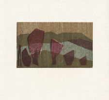 KLAUS HERZER - ALBTRAUF I * original limited edition wood cut from 1980