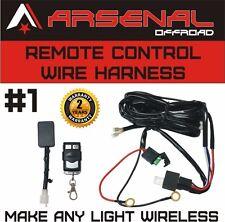 #1 Remote Control Wiring Harness Kit Switch Relay Led Light Bar 120W 240W 300W