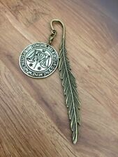 Harry Potter Inspired Bronzed Ministry  Of Magic Coin Bookmark