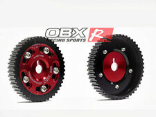 OBX Red Adjustable Sprocket Cam Gear 86 87 88 89 90 91 92 Toyota Supra 3.0L MA70