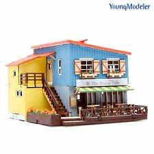 Desktop Wooden Model Kit Cafe in House by YOUNGMODELER YM659