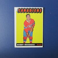 ROBERT BOBBY ROUSSEAU 1965-66 Topps  # 70   Montreal Canadiens  1966 65-66 1965