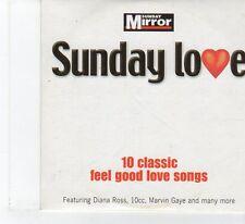 (FR127) Sunday Mirror Presents Sunday Love -10 Classic Feel Good Love S- 2004 CD