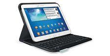 """Logitech Clavier avec Etui folio pour Samsung Galaxy Tab 3 10.1"""" Azerty Neuf"""