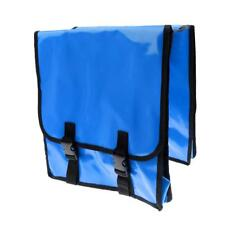 Bicycle Rack Saddle Bike Rear Seat Tail Bag Cycling Pannier Outdoor Blue