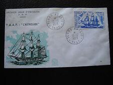 TAAF - enveloppe 1er jour 13/12/1973 (cy84)