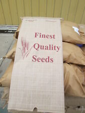 100 pack 50 lb seed bags ( Brand New )