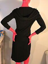 Escada Dress Hooded Black Classy,yet Rock-n-Roll Size: 34 EUC
