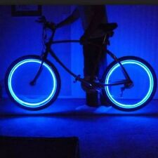 4pc Pack Neon LED LIGHTS For Bikes Cars & Motorcycles Safety Multiple Colors New