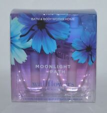2 BATH & BODY WORKS MOONLIGHT PATH WALLFLOWER FRAGRANCE REFILL BULB PLUG IN