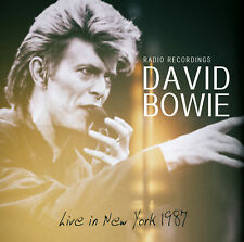 DAVID BOWIE New Sealed 2018 UNRELEASED LIVE 1987 NEW YORK CONCERT CD