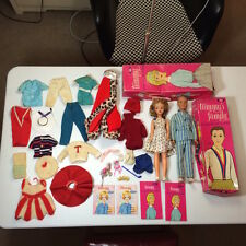 Vintage 1963 Ideal TAMMY BS-12 4 Doll & Ted B-12 1/2 Lot Both In Box w/ Clothes