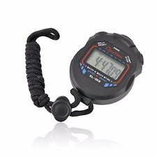 Portable Digital Handheld LCD Stopwatch Sports Chronograph Counter Timer Watch