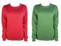 Joy Damen Sweatshirt CINDY Rot Grün Gr. 38 40 42 44 46 48