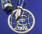 Montegrappa Euro 2002 Limited Edition Gold Fountain Pen
