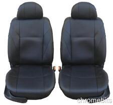 AVANT CUIR NOIR Couvertures de siège pour Renault Clio Megane MPV Laguna Scenic