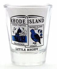 RHODE ISLAND STATE SCENERY BLUE NEW SHOT GLASS SHOTGLASS