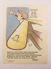 Aviateur Blériot 1913 Traversée Manche Caricature de Mich Han Ryner Speedometer