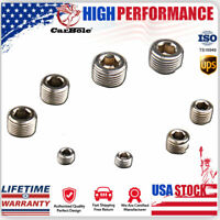 """6352G Pipe Plug Set 1//8/"""" 1//4/"""" 3//8/"""" 1//2/"""" for Intake Manifold and Cylinder Head"""