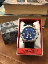 Caravelle Men's Gents Rubber Strap Watch