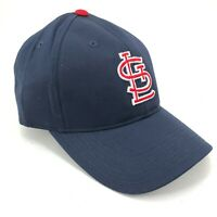 St. Louis Cardinals Outdoor Cap Adjustable Hat Curved Brim Blue Red White Logo